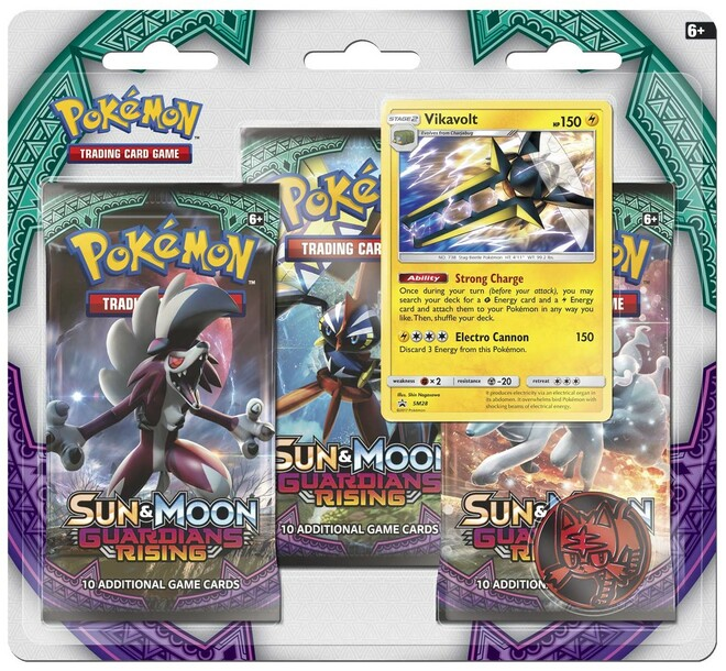 Sun and Moon 2: Guardians Rising - 3 Pack Blister