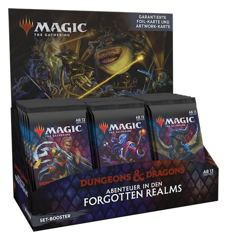 Abenteuer in den Forgotten Realms Set Booster Box