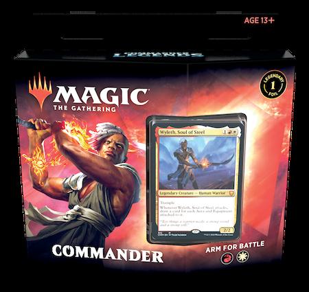 "Commander Legends: ""Arm for Battle"" Deck"