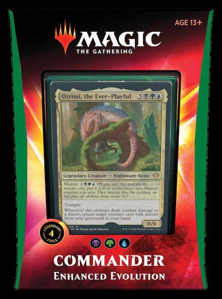 "Commander: Ikoria: ""Enhanced Evolution"" Deck"