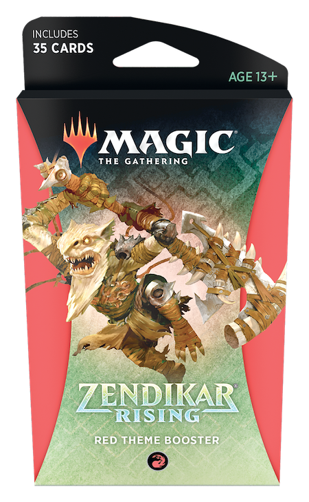 Zendikar Rising Theme Booster (Red)
