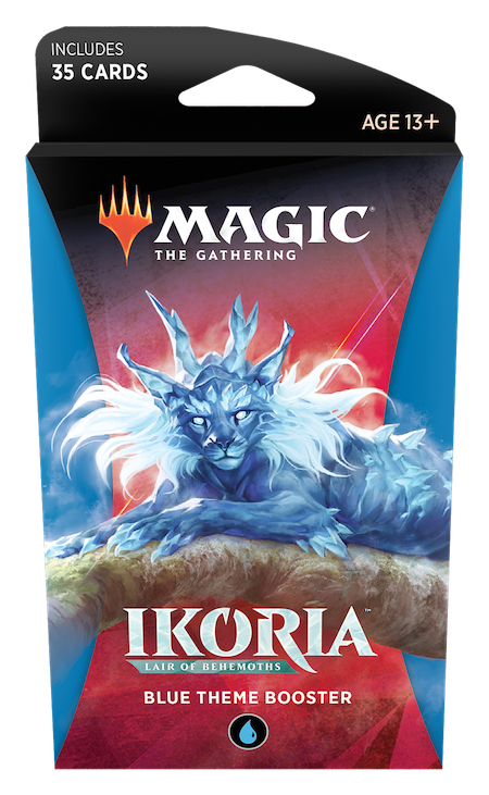Ikoria: Lair of Behemoths Theme Booster (Blue)