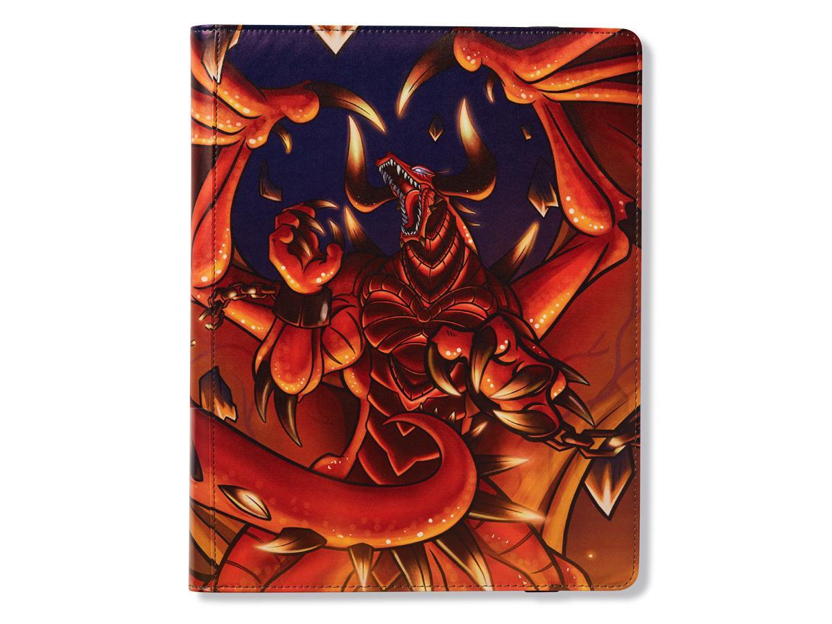 "Dragon Shield: ""Rendshear"" Red 9-Pocket Binder"