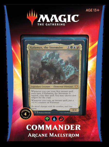 "Commander: Ikoria: ""Arcane Maelstrom"" Deck"