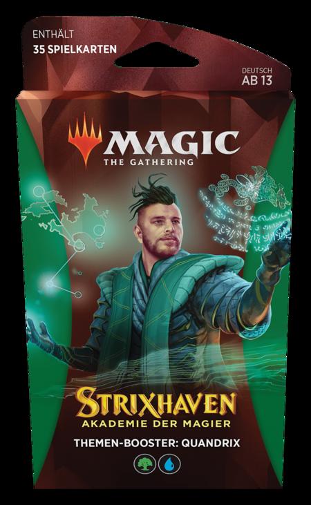 Strixhaven: Akademie der Magier Theme Booster (Quandrix)