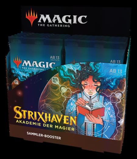 Strixhaven: Akademie der Magier Sammler Booster Box