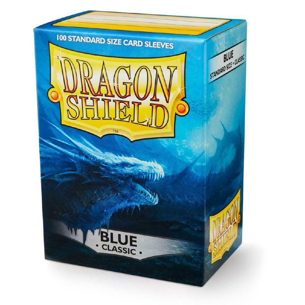 100 Dragon Shield Sleeves - Classic Blue