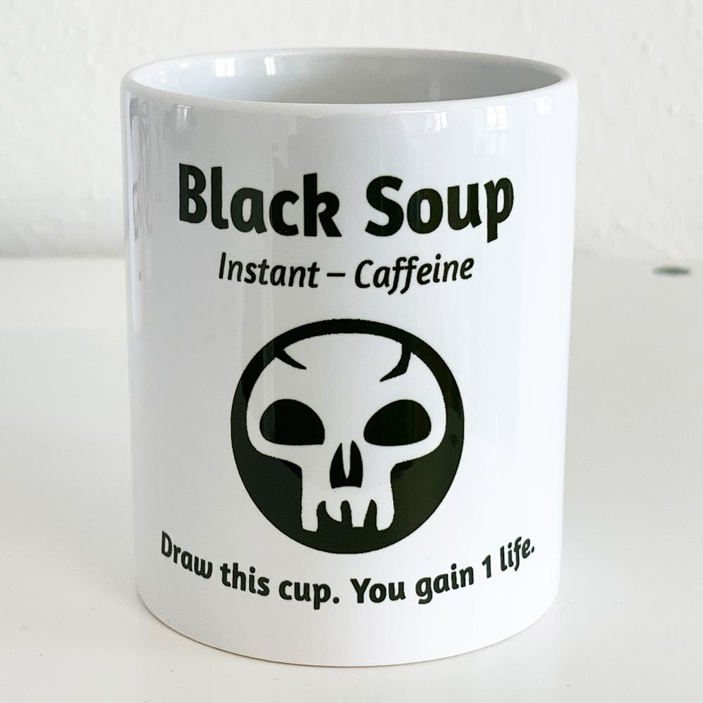 Tasse: Black Soup