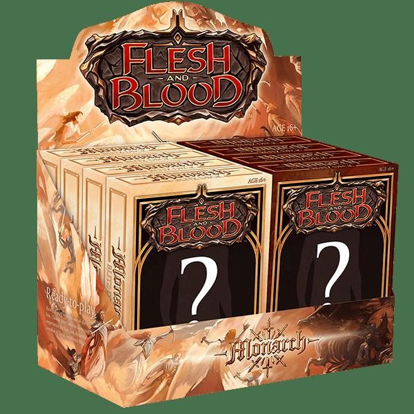 Flesh & Blood TCG: Monarch Blitz Decks Display (8 Decks)