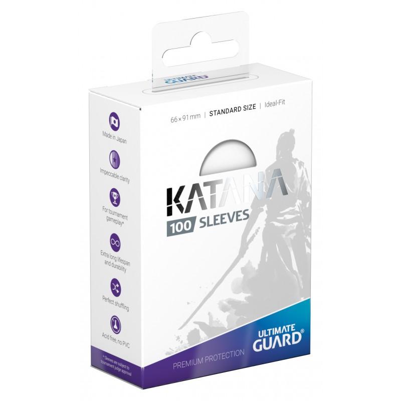 100 Ultimate Guard Katana Sleeves (White)