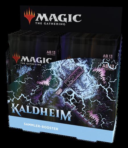 Kaldheim Sammler Booster Box
