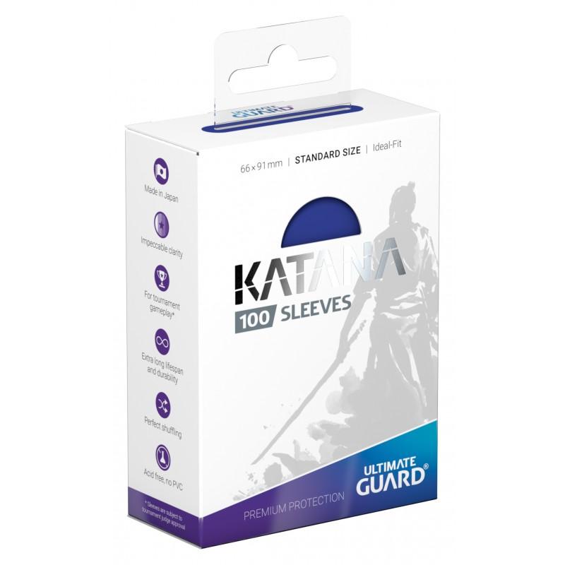 100 Ultimate Guard Katana Sleeves (Blue)
