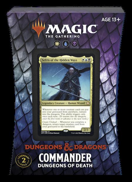 "Commander: Adventures in the Forgotten Realms: ""Dungeons of Death"" Deck"