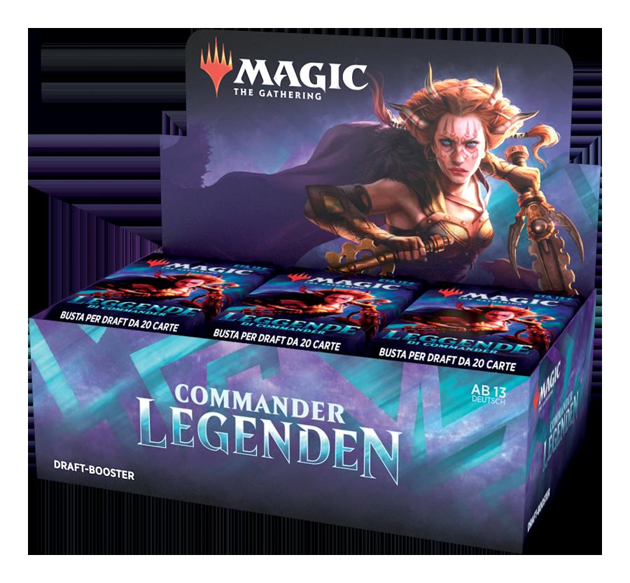 Commander Legenden Draft Booster Box