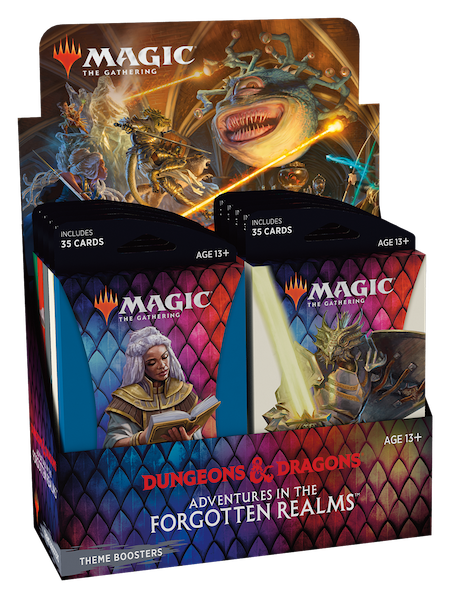 Adventures in the Forgotten Realms Theme Booster Box