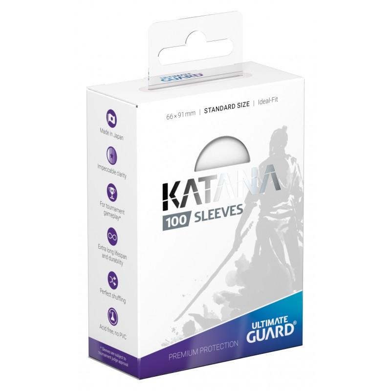 100 Ultimate Guard Katana Sleeves (Translucent)