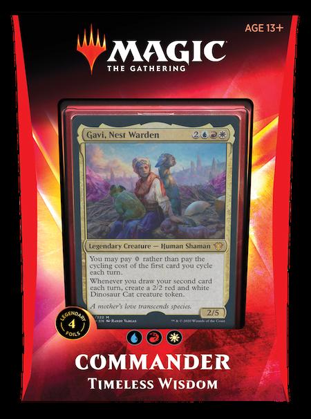 """Commander: Ikoria: """"Timeless Wisdom"""" Deck"""