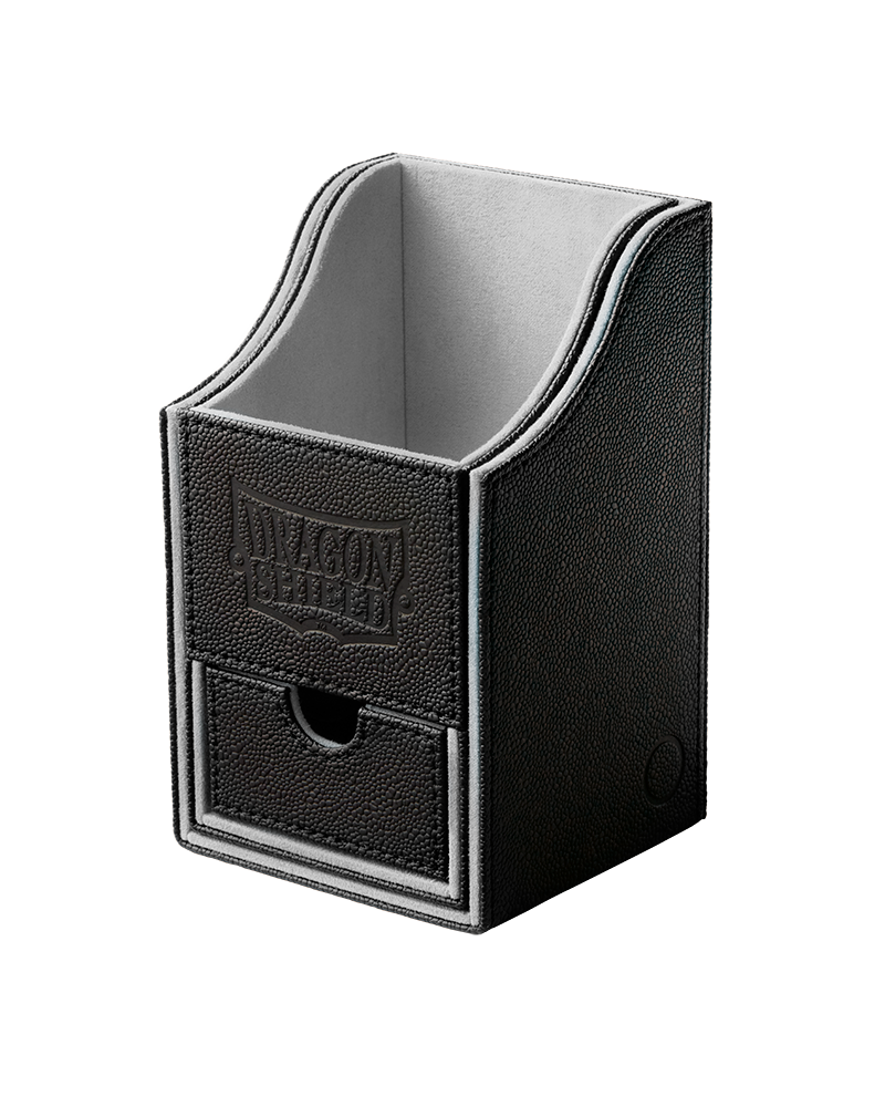 Dragon Shield Nest 100+ Deck Box (Black/Light Grey)