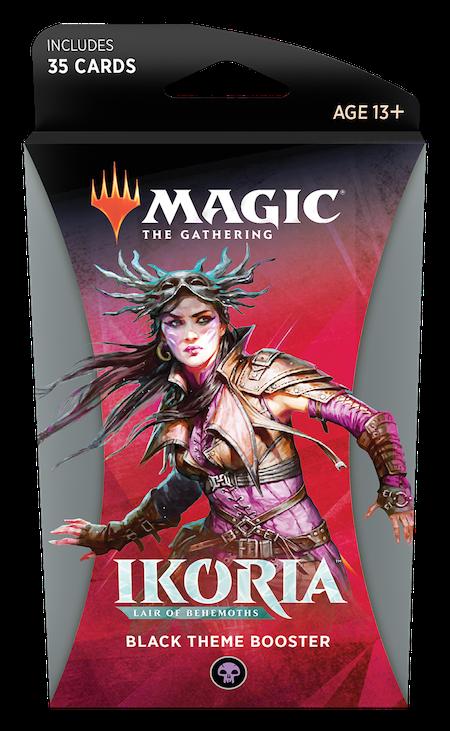 Ikoria: Lair of Behemoths Theme Booster (Black)