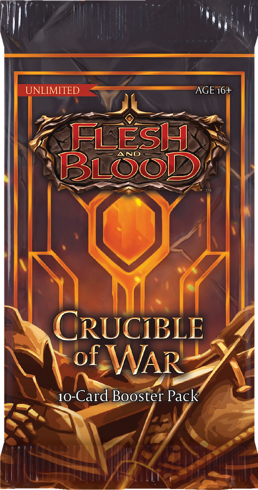 Flesh and Blood TCG: Crucible of War Unlimited Edition Booster Box Display (24 Packs) - Englisch