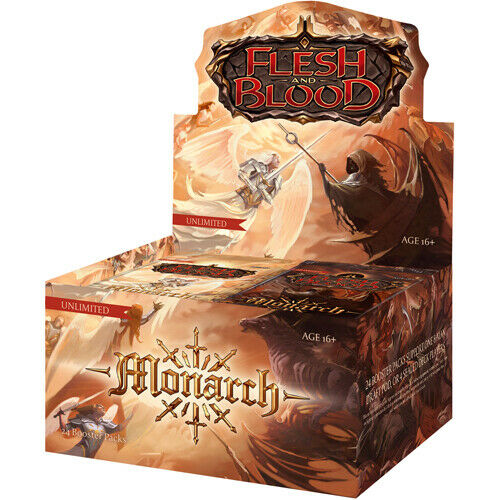 Flesh and Blood TCG: Monarch Unlimited Booster Box Display (24 Packs)