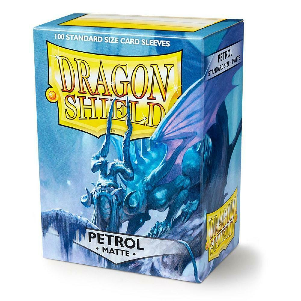 100 Dragon Shield Sleeves - Matte Petrol