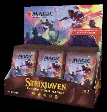 Strixhaven: Akademie der Magier Set Booster Box