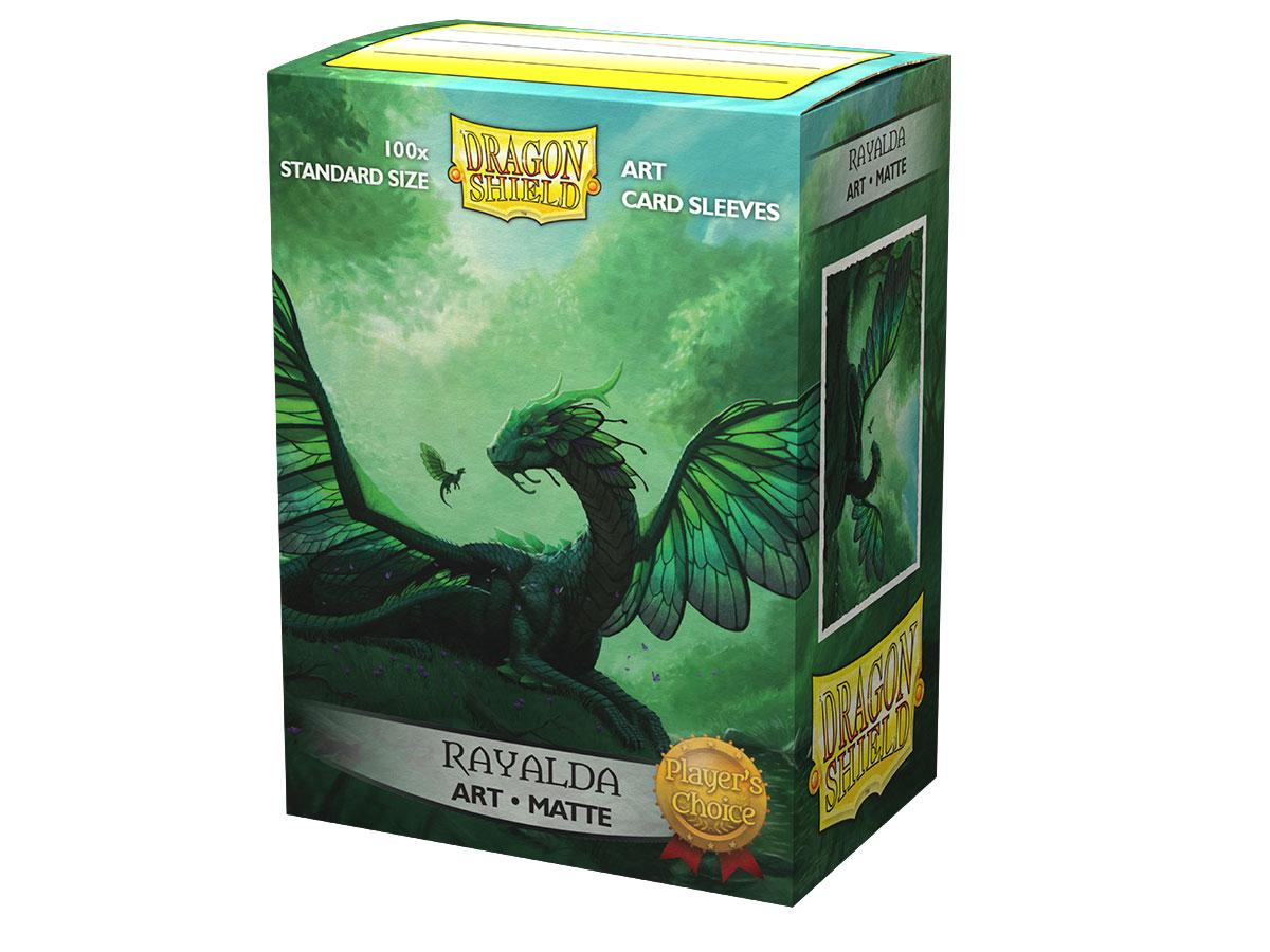 100 Dragon Shield Sleeves - Rayalda