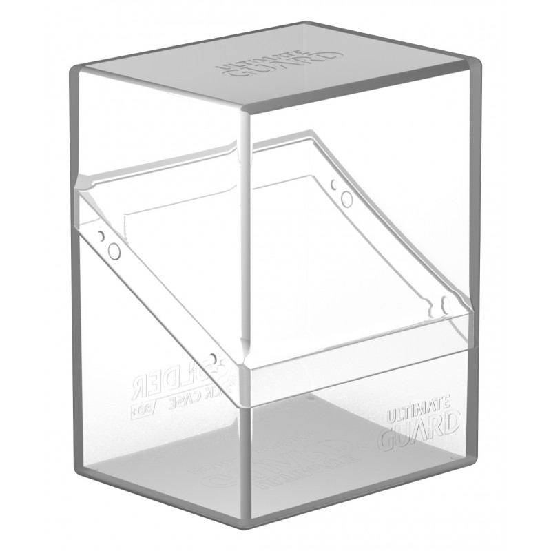 Ultimate Guard Boulder Deck Case 80+ (Clear)