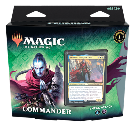"Commander: Zendikar Rising: ""Sneak Attack"" Deck"