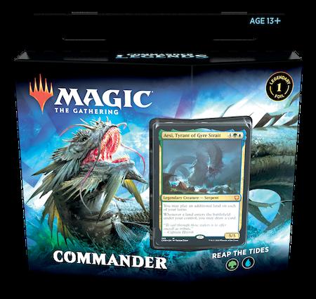 """Commander Legends: """"Reap the Tides"""" Deck"""