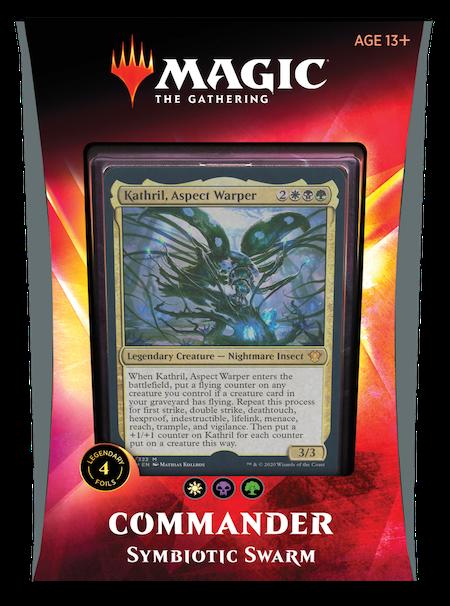 "Commander: Ikoria: ""Symbiotic Swarm"" Deck"