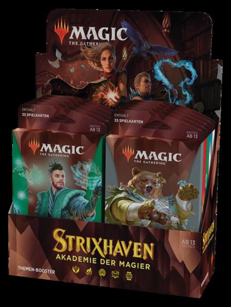 Strixhaven: Akademie der Magier Theme Booster Box