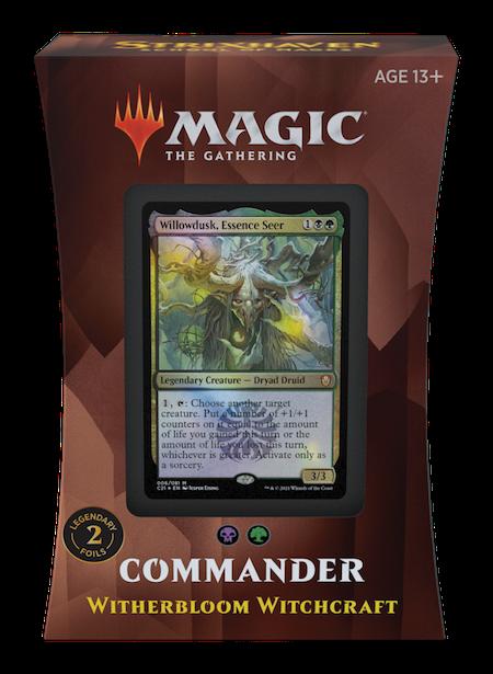 "Commander: Strixhaven: ""Witherbloom Witchcraft"" Deck"