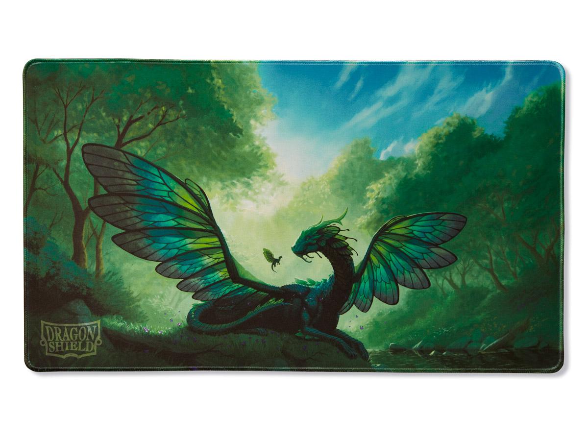 "Dragon Shield: ""Rayalda"" Emerald Playmat"