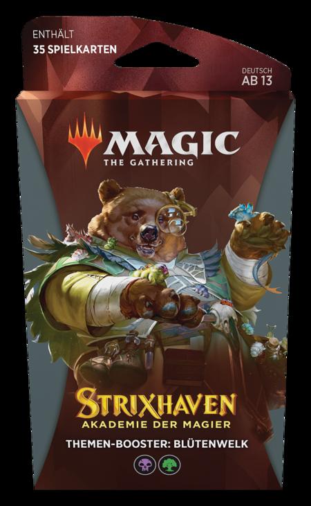Strixhaven: Akademie der Magier Theme Booster (Blütenwelk)