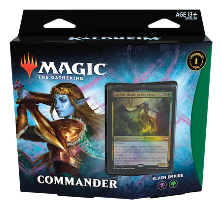 "Commander: Kaldheim: ""Elven Empire"" Deck"