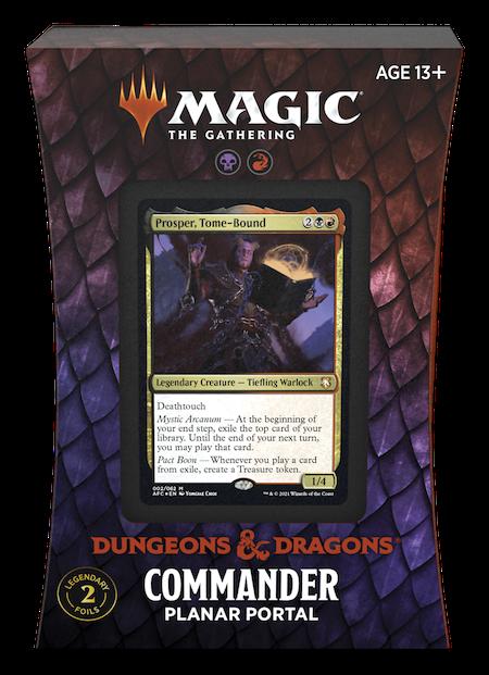 "Commander: Adventures in the Forgotten Realms: ""Planar Portal"" Deck"