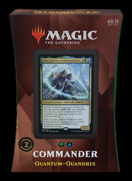 """Commander: Strixhaven: """"Quantum-Quandrix"""" Deck"""