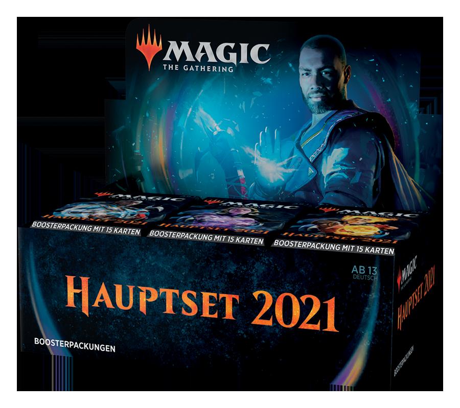 Hauptset 2021 Booster Box