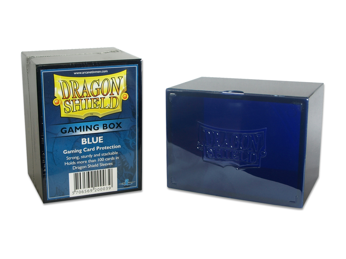 Dragon Shield Gaming Box (Blue)