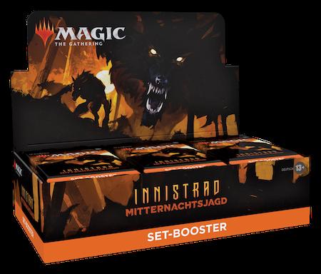 Innistrad: Mitternachtsjagd Set Booster Box