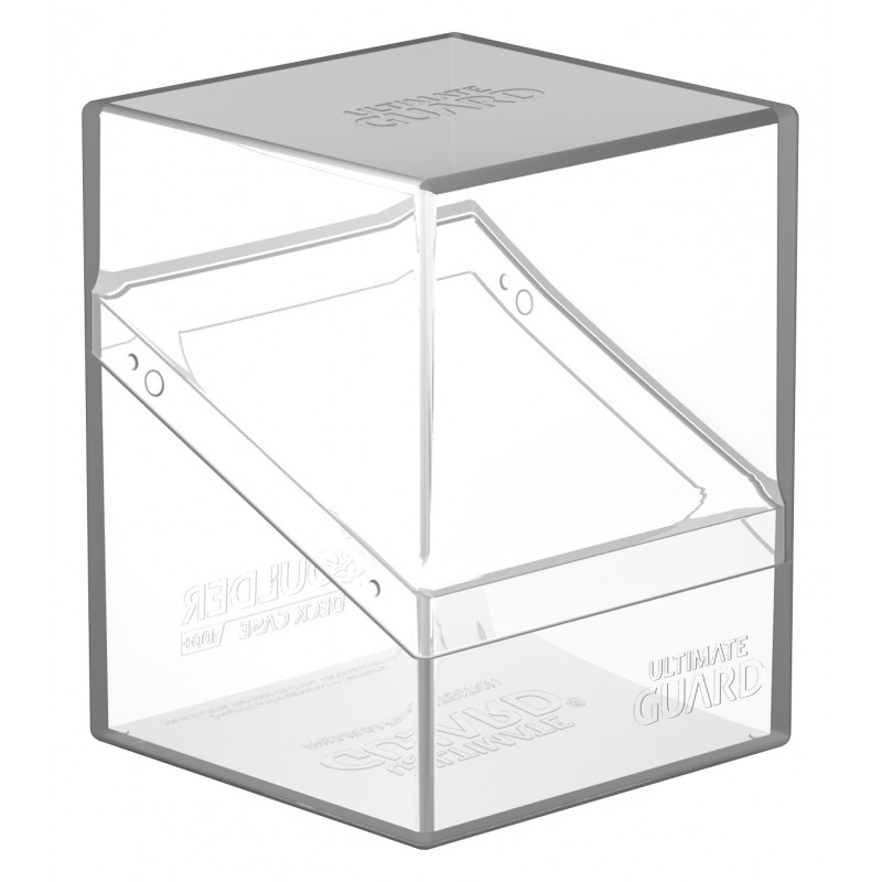 Ultimate Guard Boulder Deck Case 100+ (Clear)