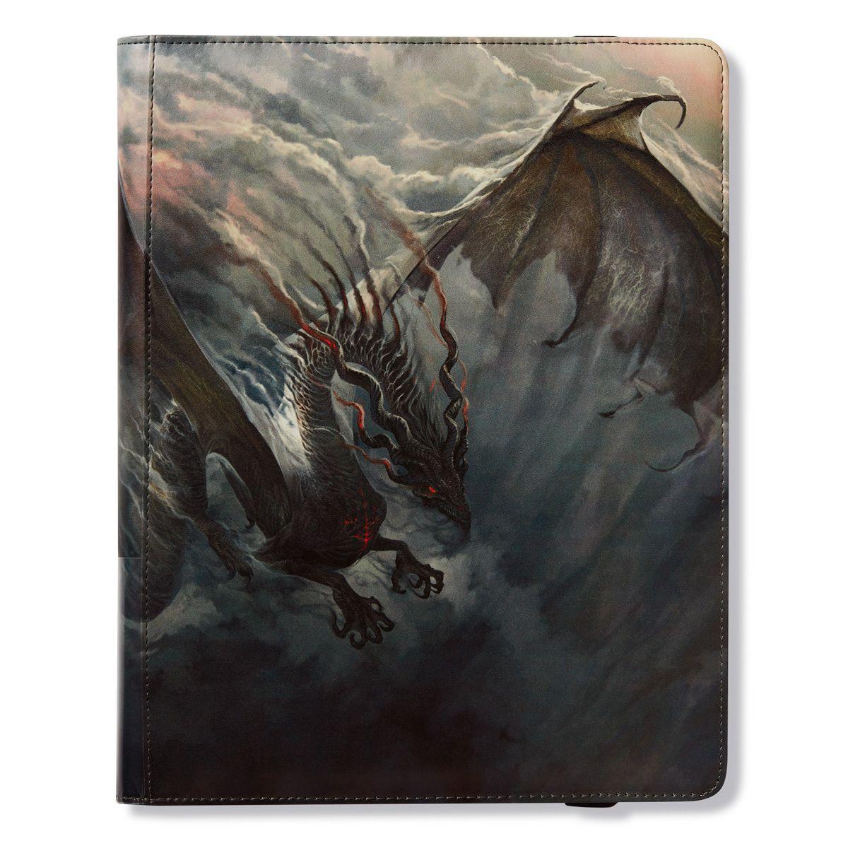 """Dragon Shield: """"Fuligo"""" Smoke 9-Pocket Binder"""