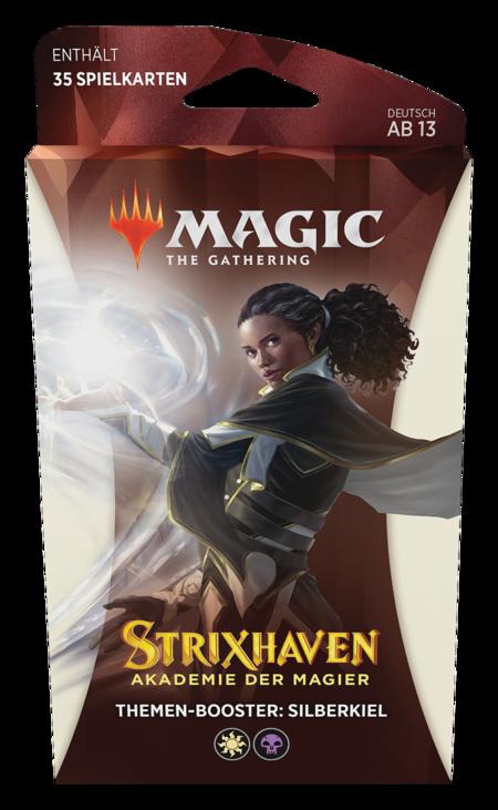 Strixhaven: Akademie der Magier Theme Booster (Silberkiel)