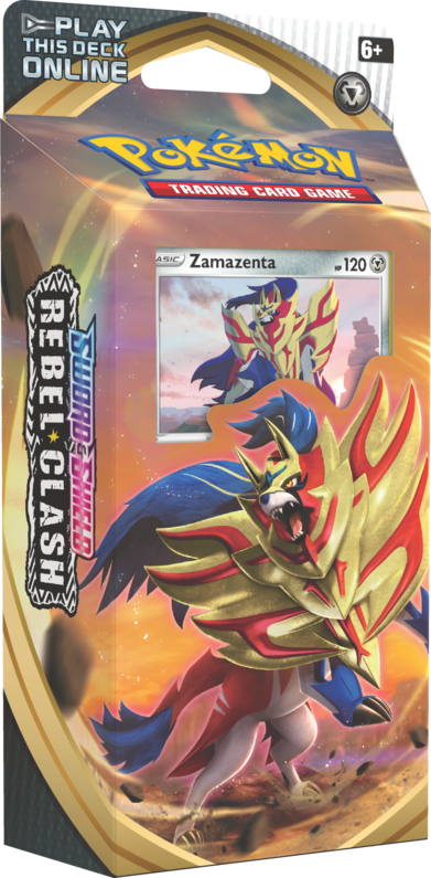 Rebel Clash: Zamazenta Theme Deck