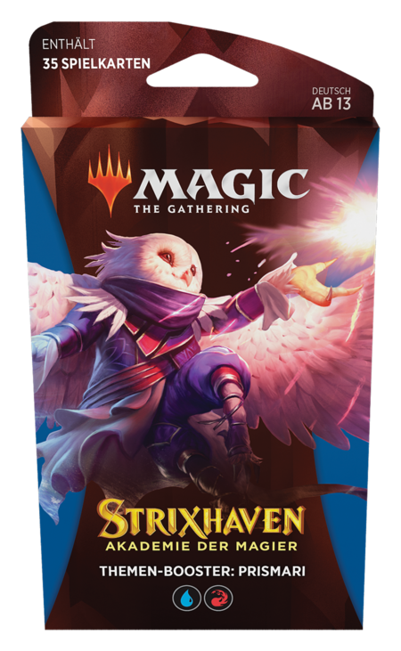 Strixhaven: Akademie der Magier Theme Booster (Prismari)