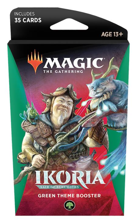 Ikoria: Lair of Behemoths Theme Booster (Green)