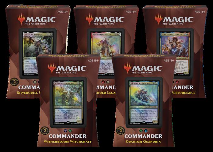 Commander: Strixhaven english deck set