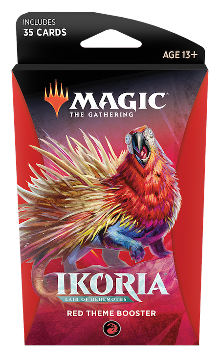 Ikoria: Lair of Behemoths Theme Booster (Red)